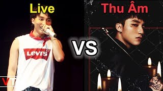 So Sánh Khả Năng Hát Live Vs Thu Âm Của Sơn Tùng M-TP Qua Các Năm (2012 - 2018)