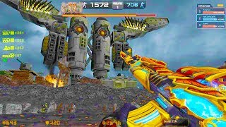 Counter-Strike Nexon: Zombies - Colossus Zombie Boss Fight (Hard1) online gameplay on Total War map