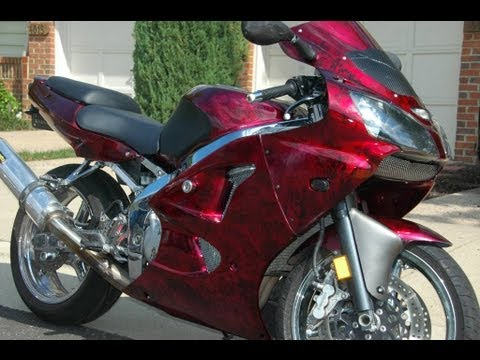 How To Paint Marble Effect On A Motorcycle In Your Garage