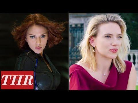 Scarlett Johansson on Black Widow & Bruce Banner's Love Story, Working with Adam Driver & More   THR