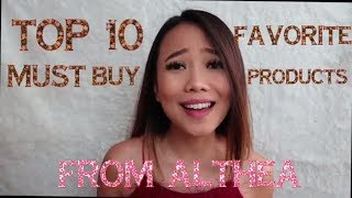 Top 10 My Fave K-Beauty Products That you Must-Buy from ALTHEA !!
