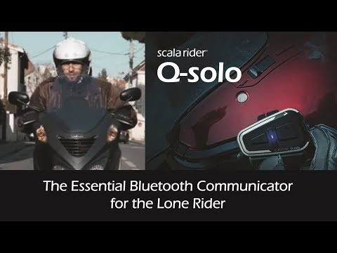 Cardo Launches the Scala Rider Q-solo
