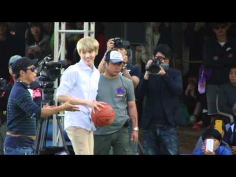 [fancam] 131013 Dream Team EXO Kris playing basketball (2)