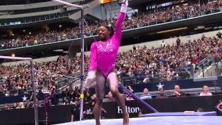 Simone Biles - Uneven Bars - 2015 AT&T American Cup - NBC