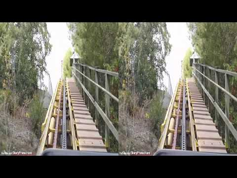 Gold Rusher (3D On-Ride) Six Flags Magic Mountain