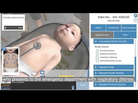 Shadow Health's Pediatrics overview sample video
