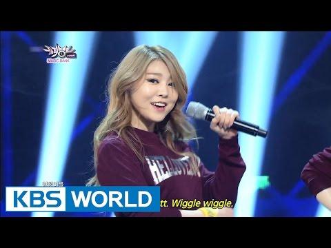Hellovenus - Wigglewiggle | 헬로비너스 - 위글위글 [Music Bank HOT Stage / 2015.01.02]