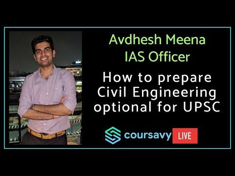 video CIVIL ENGINEERING – UPSC CIVIL SERVICES CONVENTIONAL EXAMINATION – SUBJECT-WISE PREVIOUS YEARS SOLVED PAPER 1