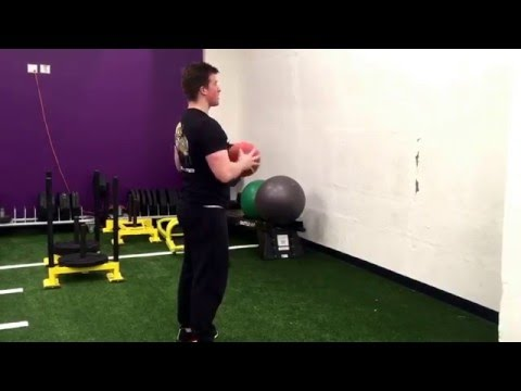 Standing Medicine Ball Chest Throw: Upper Body Plyometric Exercise