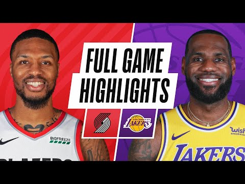 TRAIL BLAZERS at LAKERS | FULL GAME HIGHLIGHTS | February 26, 2021