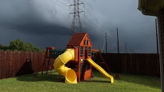 Tornado Warnings and Heavy Rain during Tropical Depression Imelda 🌀