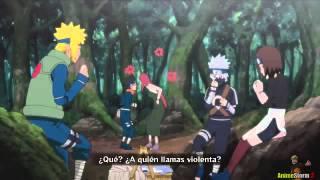 Naruto Shipuden - Minato Vs kakashi Pelea Completa Sub Español HD