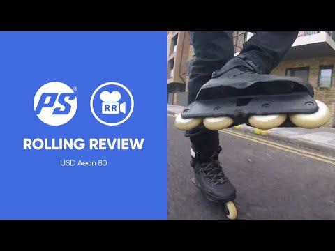Video USD Roller Street AEON 80 Noir 2018