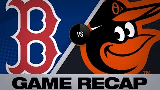 5/7/19: Moreland, Martinez lead Red Sox past Orioles