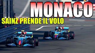 F1 2020: MONACO con SAINZ INDIAVOLATO