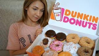 MUKBANG | Dunkin Donuts | Eating show