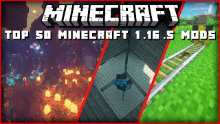 Top 50 Best Minecraft 1.16.5 Mods that are Worth Trying!