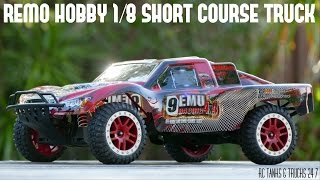 REMO HOBBY 1/8 Short Course Truck - Unboxing & First Look