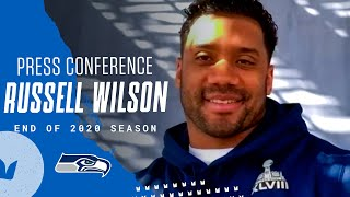 Russell Wilson 2020 End of Season Press Conference