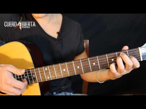 Como tocar Eres de Cafe Tacuba en la Guitarra Acustica - Leccion para principiantes