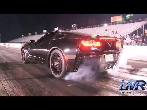2 Corvette C7 monstrueuses