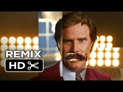 Anchorman 2: The Legend Continues REMIX (2013) Will Ferrell Movie HD - Smashpipe Film
