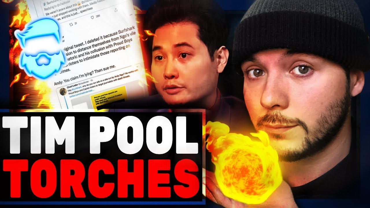 Instant Regret! Tim Pool TORCHCES Sponsor Who Dropped Andy Ngo Over Lies! Surfshark Loses Huge!