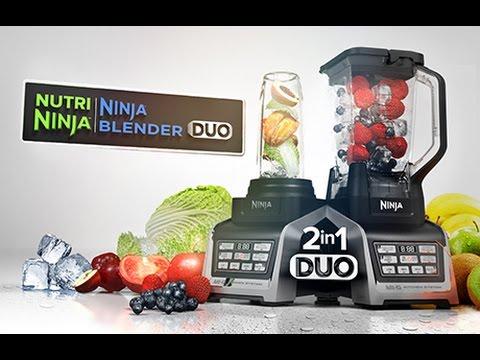 Nutri Ninja® Blender Duo with Auto IQ Technology