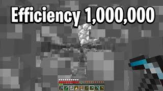 Minecraft efficiency 1000000 confusion
