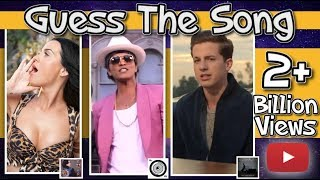 2019 GUESS THE SONG CHALLENGE! - (2 Billion+ YT Views Edition)