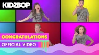 KIDZ BOP Kids –Congratulations (Official Music Video) [KIDZ BOP 36] - YouTube