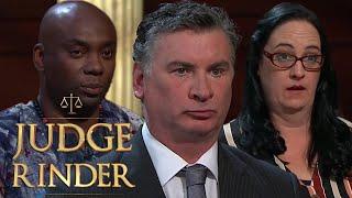 The Biggest Fraudsters in Court Compilation   Judge Rinder