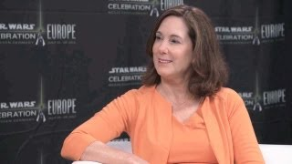 Kathleen Kennedy Star Wars Celebration Europe Interview 2013