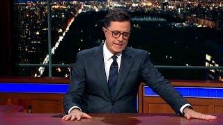 Las Vegas shooting: Emotional Stephen Colbert, James Corden, Jimmy Kimmel call for action