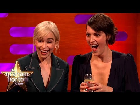Emilia Clarke Desperately Tries Not To Spoil The New Star Wars   The Graham Norton Show