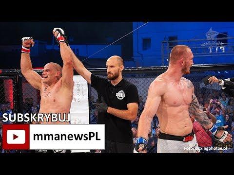 """Michał Fijałka po wygranej z Marcinem Łazarzem: """"To była wyrównana walka."""""""