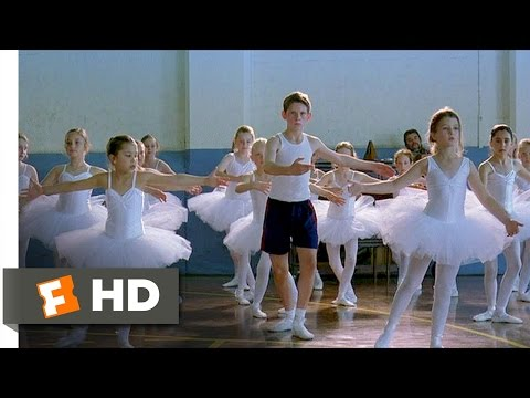 Billy Elliot (3/12) Movie CLIP - Pirouette Practice (2000) HD