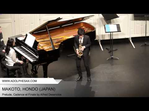 Dinant 2014- Makoto, Hondo - Prelude, Cadence et Finale by Alfred Desenclos