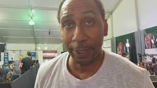 "Stephen A. Smith Vs Max Kellerman Charity Boxing Match? ""I GOT HAND SKILLS"""
