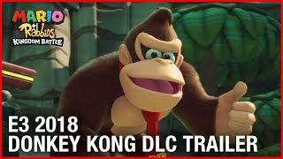 Mario + Rabbids Kingdom Battle: E3 2018 Donkey Kong Adventure DLC Gameplay Trailer | Ubisoft [NA]