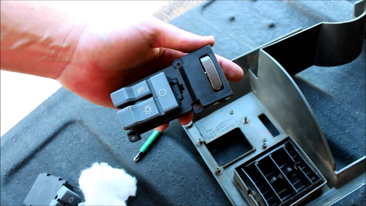 how to replace a headlight switch chevy and gmc youtube. Black Bedroom Furniture Sets. Home Design Ideas