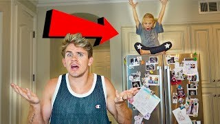 6 Year Old Hide N Seek BEST Hiding Spots Ever!!!