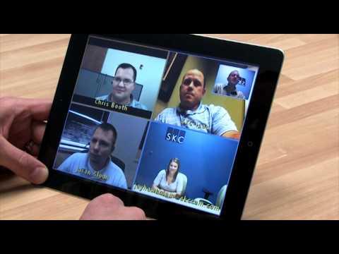 Polycom RealPresence Mobile app for iPad 2 demo