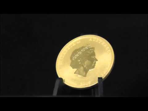 Australian 1/2 Ounce 2015 Gold Lunar Goat Coin 999.9