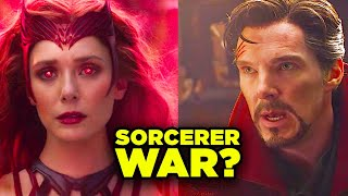 Multiverse of Madness SORCERER WAR? Scarlet Witch vs Doctor Strange! | RT 210