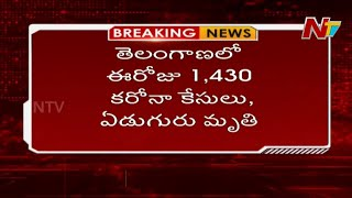 Corona Update: 1,430 positive cases reported in Telangana,..