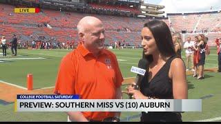 Interview with Rod Bramblett, voice of the Auburn Tigers