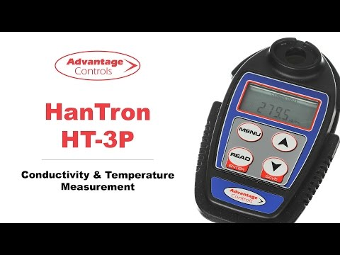 Advantage Controls Hantron HT-3P Conducitivity Meter