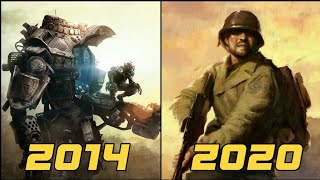 EVOLUTION OF RESPAWN ENTERTAINMENT GAMES [2014-2020]
