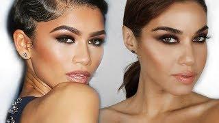 Zendaya Inspired Smokey Eye Makeup Tutorial Using ONLY 2 Eyeshadows! | Eman